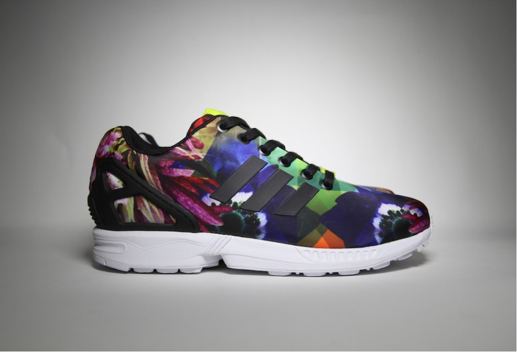 Adidas ZX Flux Floral Barcelona