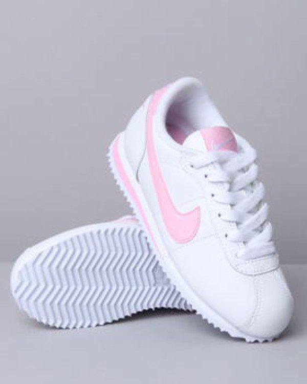 quality design 72537 440d8 Nike Cortez Shoes Baby Toddler Size 5C Pink And White