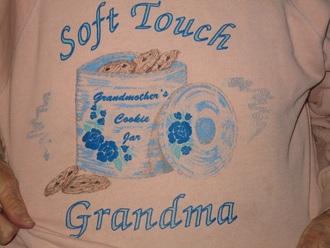 shirt peach shirt soft touch grandma tumblr tumblr shirt