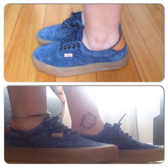 shoes vans era59 blue suede gummy skater shoes vans sneakers fashion style