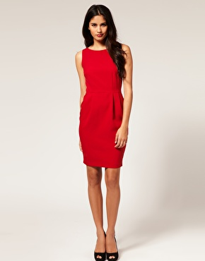 Asos simple pencil dress at asos