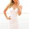 White strapless dress - white strapless bodycon mini dress | ustrendy