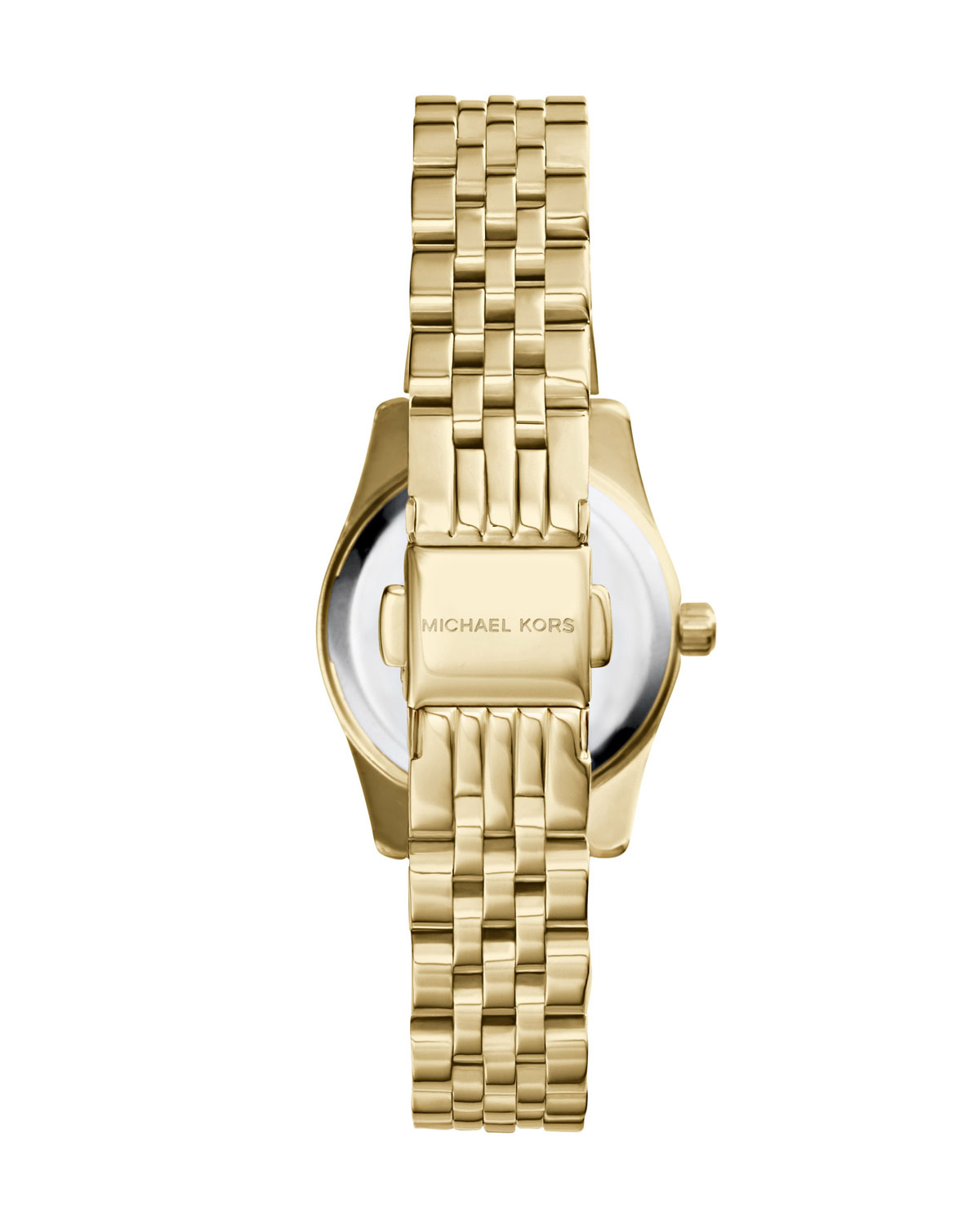Petite Golden/Pink Stainless Steel Lexington Three-Hand Watch