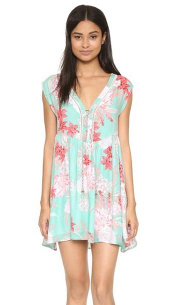 Minkpink dress mint