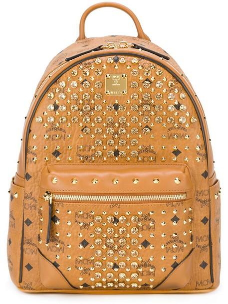 studded backpack studded backpack nude bag