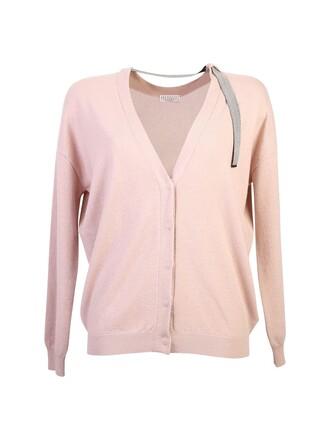 cardigan pink sweater