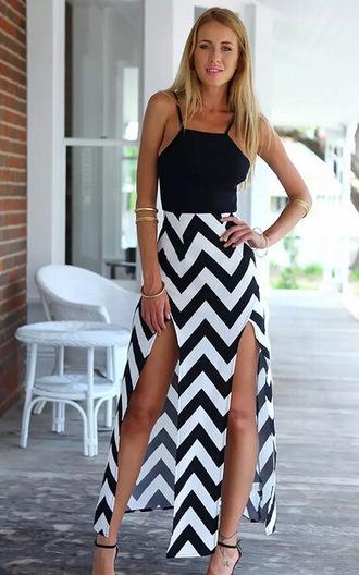 dress splice dress striped dress beach dress summer dress summer style dress strapless dress