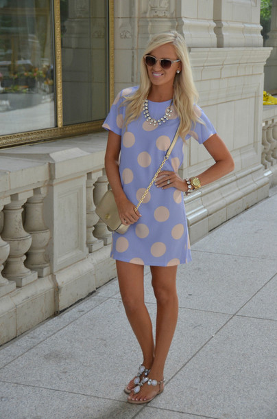 dress summer outfits summer dress pastel lavender dress lavender polka dots poka dot dress girly spring outfits spring dress