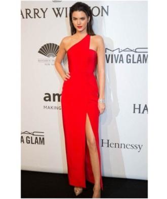 dress beautiful# kendal red carpet dress red red dress classy
