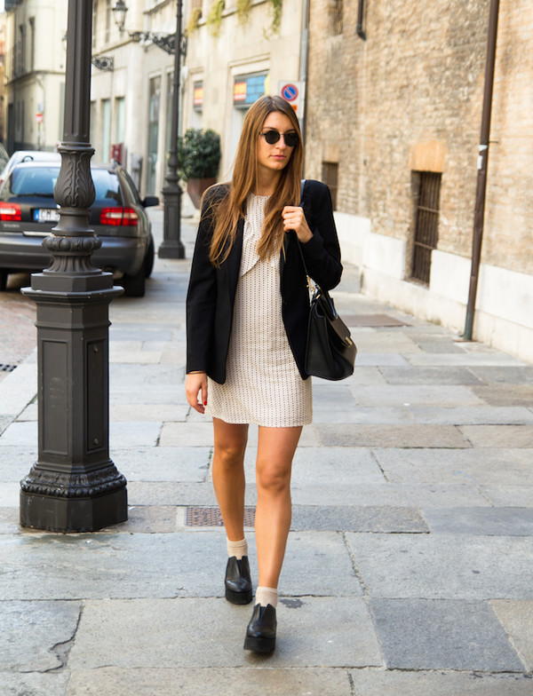 style and trouble blogger bag socks sunglasses jacket