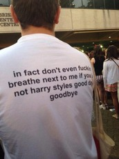 t-shirt,accurate,harry styles,white,one directon,shirt,yes please??,love thus,love this,whige,band t-shirt,yay,other awesome stuff,other amazing stuff
