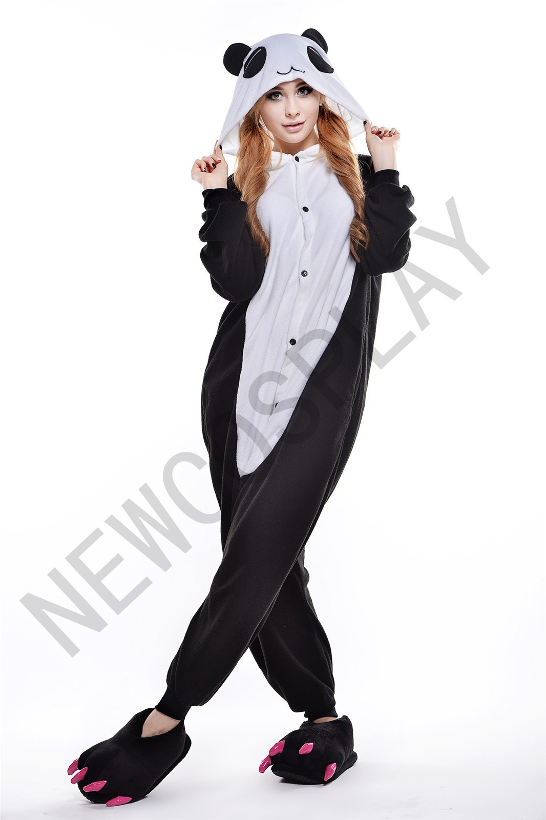 Red Eye Panda onesie by NEWCOSPLAY ONESIE