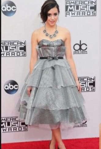 glitter bow belt silver dress glitter dress silver glitter silver glitter dress poofy poofy dress megan nicole
