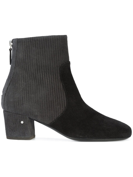 LAURENCE DACADE women ankle boots leather suede grey shoes