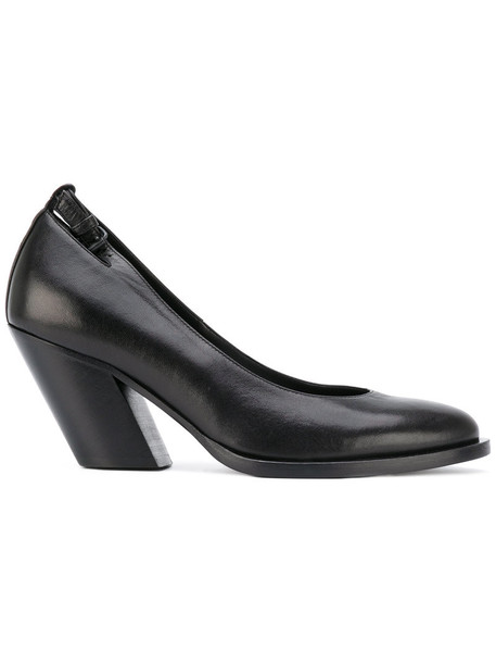 A.F.VANDEVORST heel women pumps leather black shoes