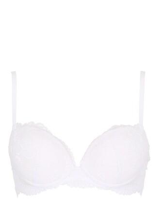 bra lace white underwear