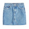 Cut-off denim mini skirt - anine bing | women | gb stylebop.com