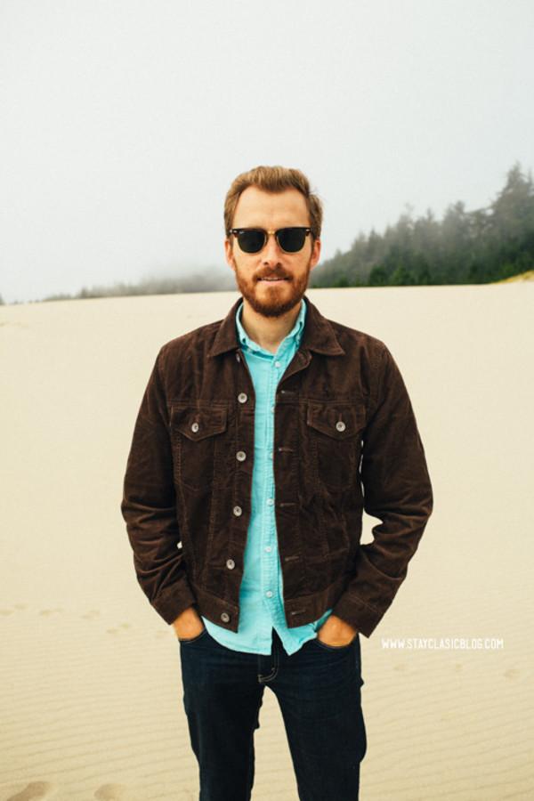 stay classic blogger jacket shoes jeans sunglasses belt menswear