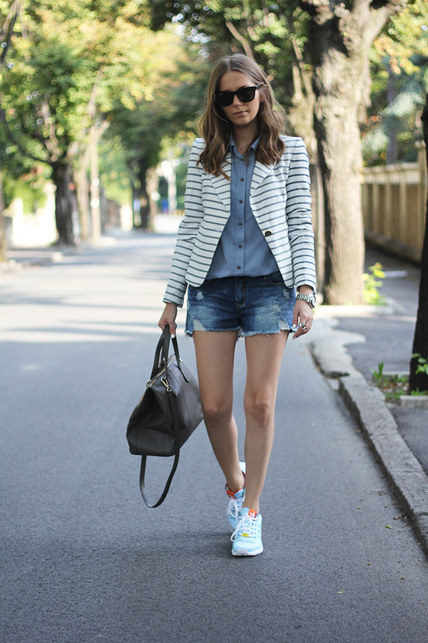 fashion and style blogger shoes jacket bag jewels sunglasses