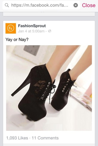 shoes classy heels black heels platform lace up boots lace boots black fashion transparent
