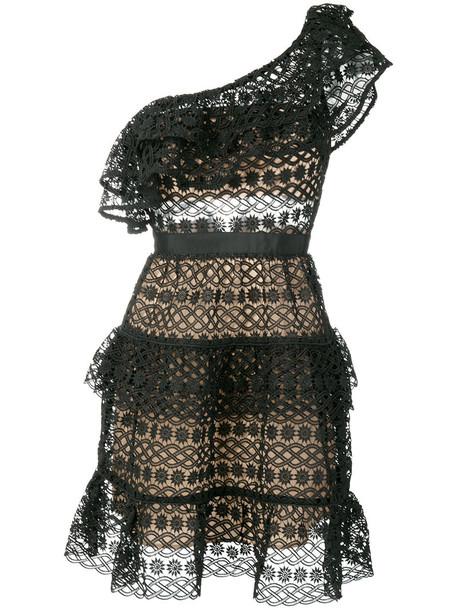 self-portrait dress lace dress women lace black