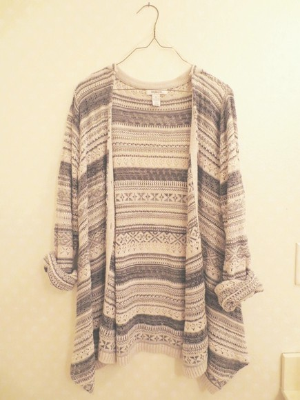 aztec tribal tribal pattern jacket cardigan sweater top tribal sweater tribal print sweater aztec sweater aztec print
