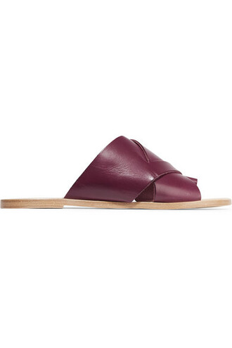 shoes slide shoes mules slip on shoes