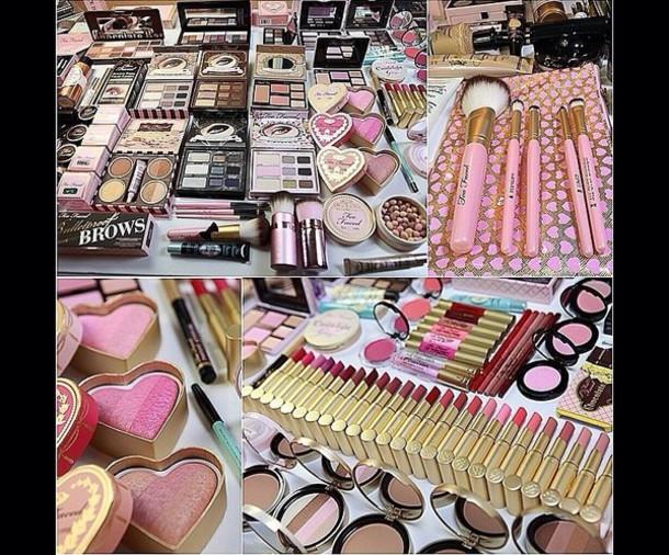 nail polish too faced makeup