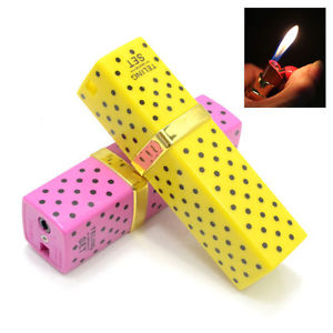 Lipstick lighter