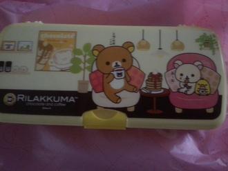 home accessory pencil case rilakkuma