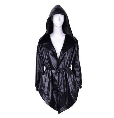 The assassin leather trench