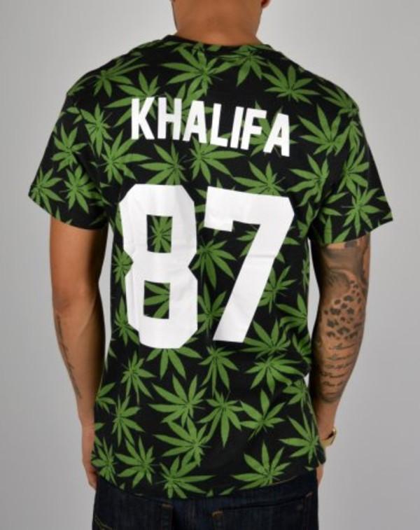 shirt khalifa 87 weed