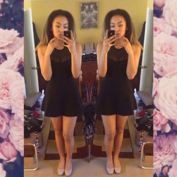 dress black black dress short dress little black dress