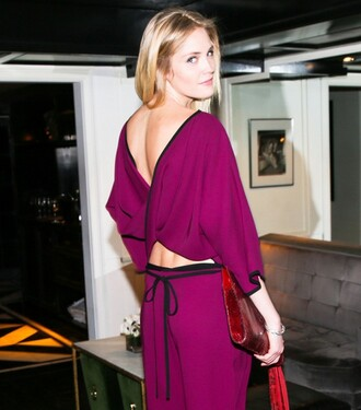 jumpsuit backless jumpsuit purple jumpsuit red clutch open back backless clutch