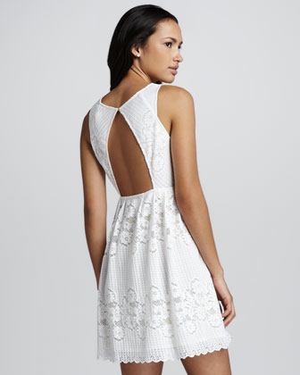 Free People Rocco Open Back Lace Dress Cusp