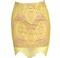 Hot spot lace skirt