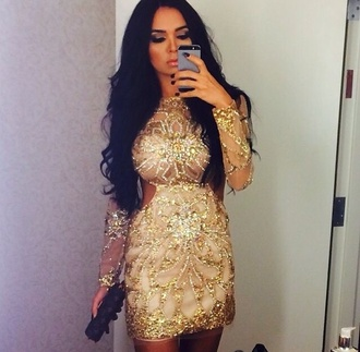 dress new year's eve fashion style gold gold sequins bodysuit bodycon dress body tumblr outfit tumblr tumblr girl tumblr clothes