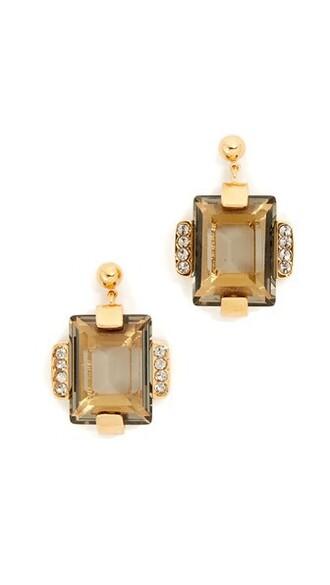 metal earrings nude jewels