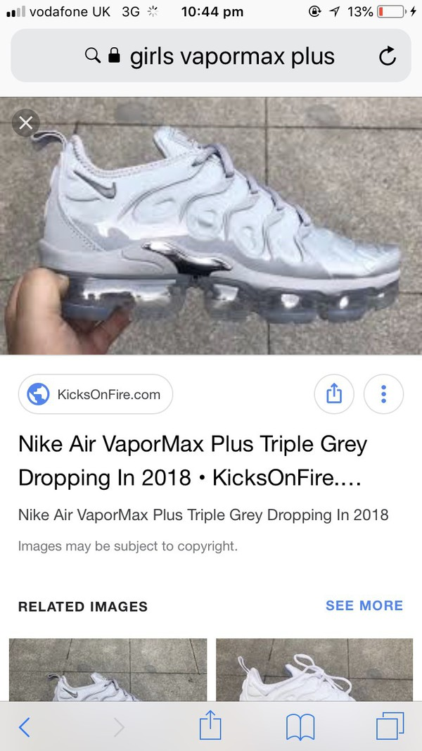 Air VaporMax Plus Wolf Grey \