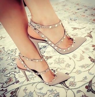 shoes heels high heels beige gold high heel sandals sandals