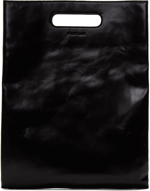 Helmut Lang clutch black bag