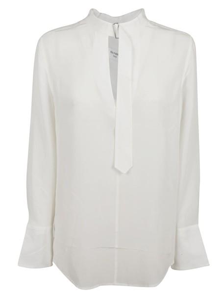 Equipment blouse white top
