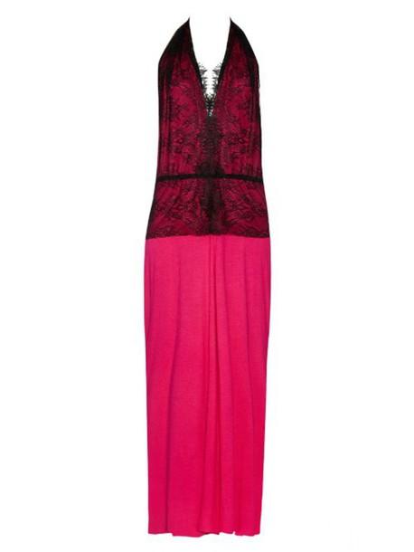 Loyd/Ford dress jersey dress lace black pink