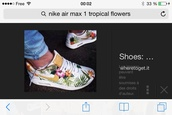 shorts,shoes,nike air max 1,nike air max flowers,flower nike air max,nik airmax sneakers florall
