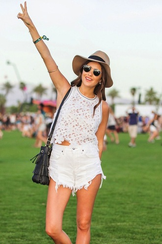 shirt white top lace cut-out cute coachella stripes cool tank top