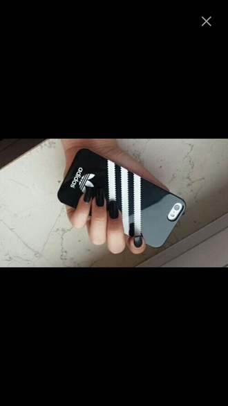 phone cover adidas black cover