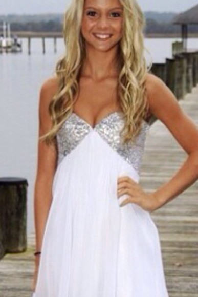 dress glitter dress sequins sparkle dress white dress