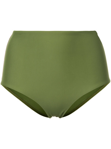 MATTEAU high women spandex green underwear