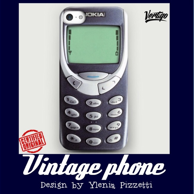 VINTAGE PHONE by Ylenia Pizzetti - ... | Vertigo Official Store | Depop