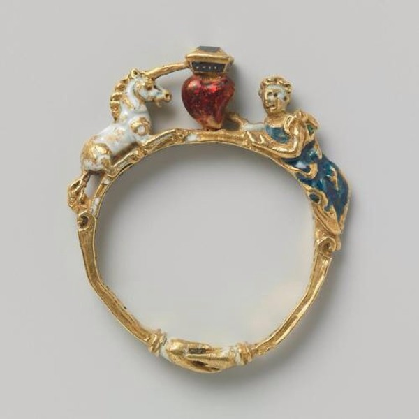 Reproduction Posy Ring